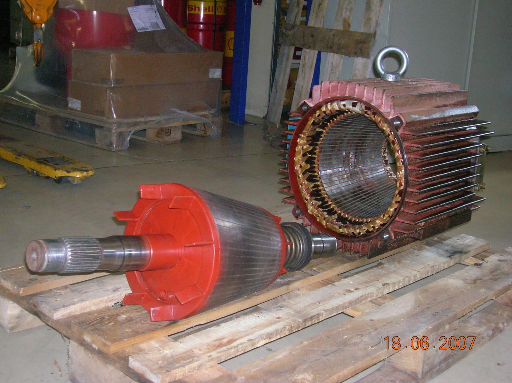 Moteur a rotor conique DEMAG