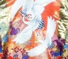 色打掛 夫婦鶴