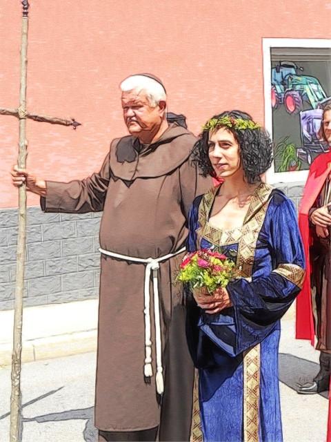 Der Waxenberger Oheim mit der Braut