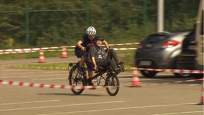 Zieleinlauf Special Olympics (Bild: SR)