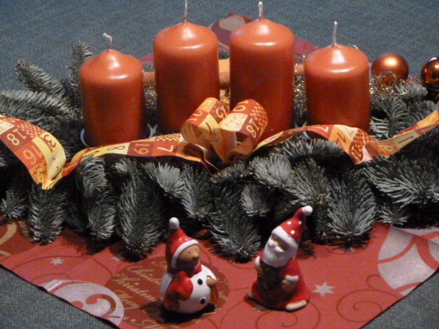 ....mein Adventskranz.....