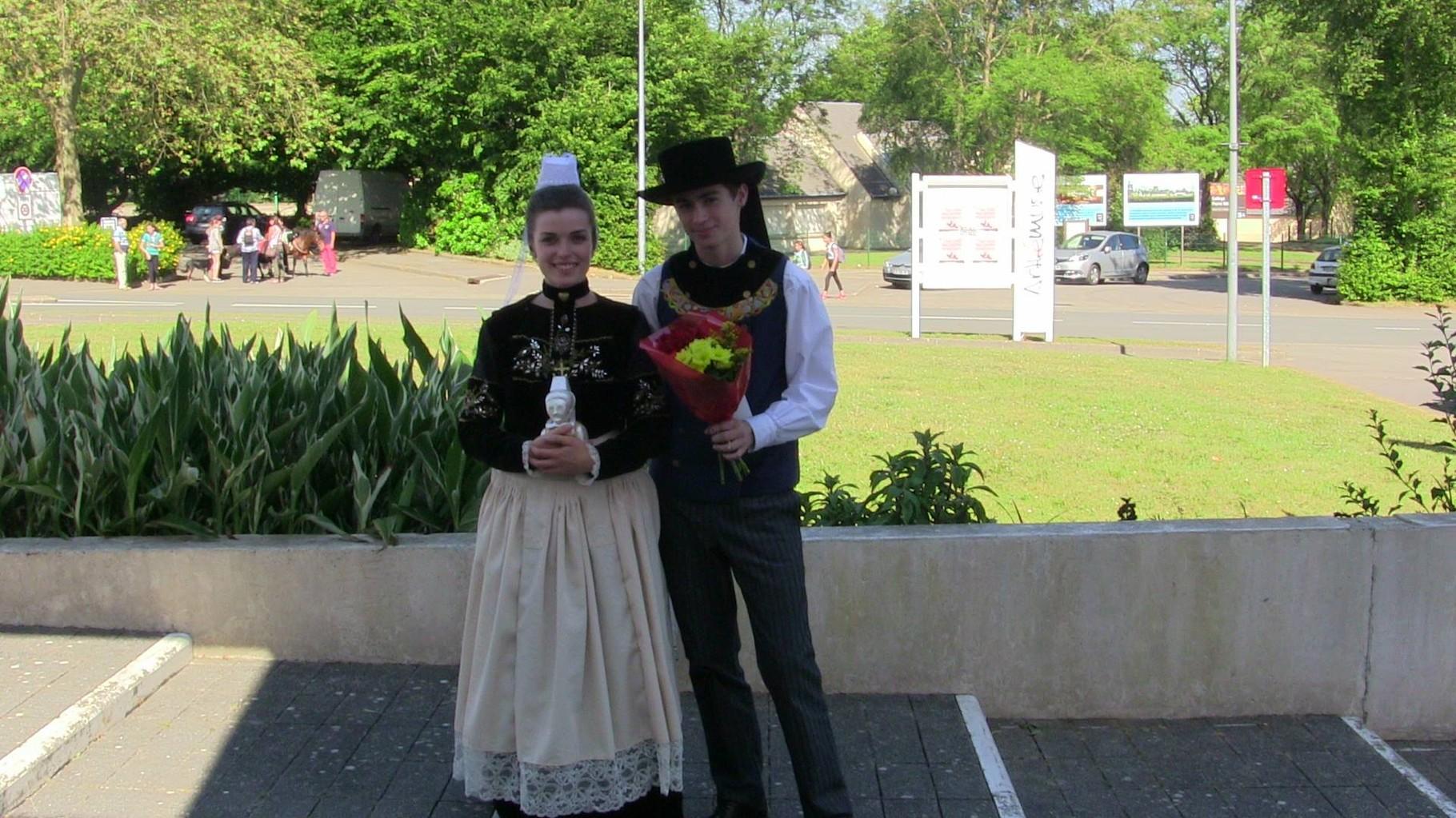Trophée : Costume reconstitué