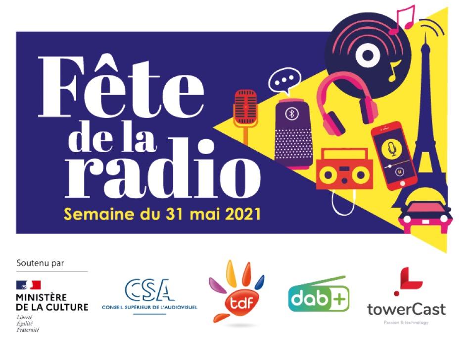 Rendez-vous la semaine du 31 mai 2021 pour la Fête de la Radio