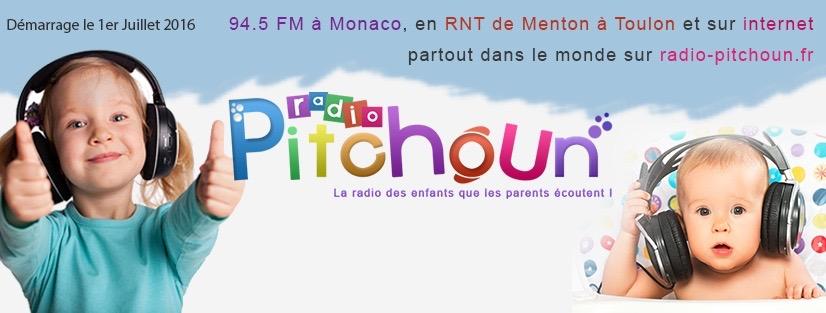 Démarrage de Radio Pitchoun, le 1er juillet 2016 en DAB+ de Menton à Toulon, RNT