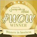 Winner of the highly prestigious #WOW award from Jacqueline Gold on Twitter