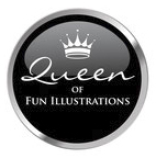 Winner of the highly regarded #Queen of fun Illustrations on Twitter