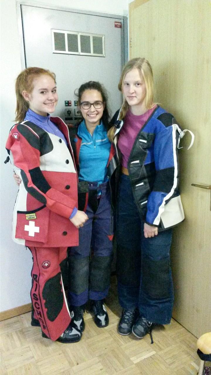 Natasha, Annina, Lorena 1. BSV Training 2015