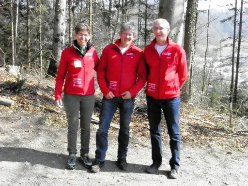 Final 10m Auflageschiessen Wettswil Yvonne, Placi, Corsin D.