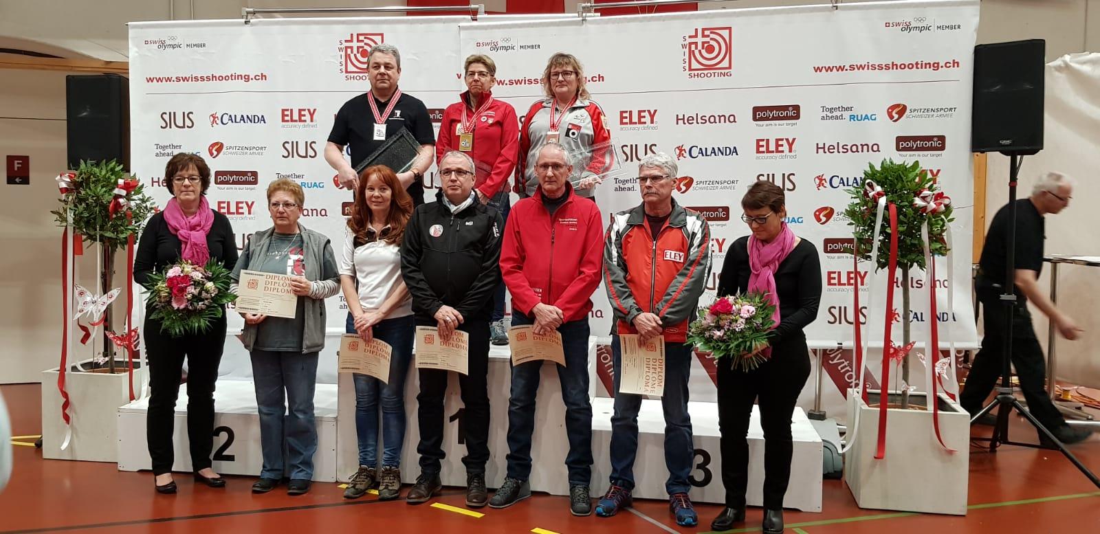 Schweizermeisterschaft Auflageschiessen 10M 2019