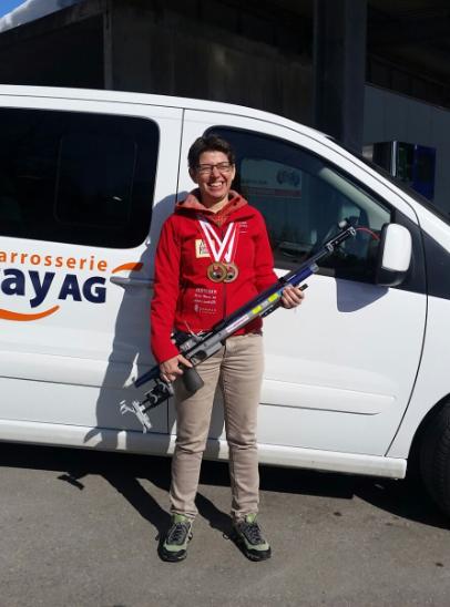 1. Rang Yv - Schweizermeisterin Bern