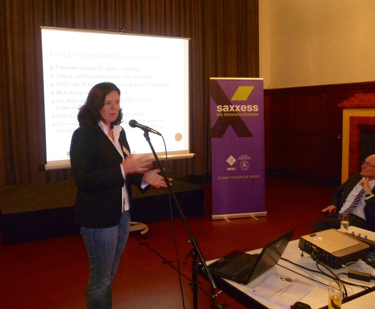 Vortrag von Dagmar Mager, IBB, Dresden
