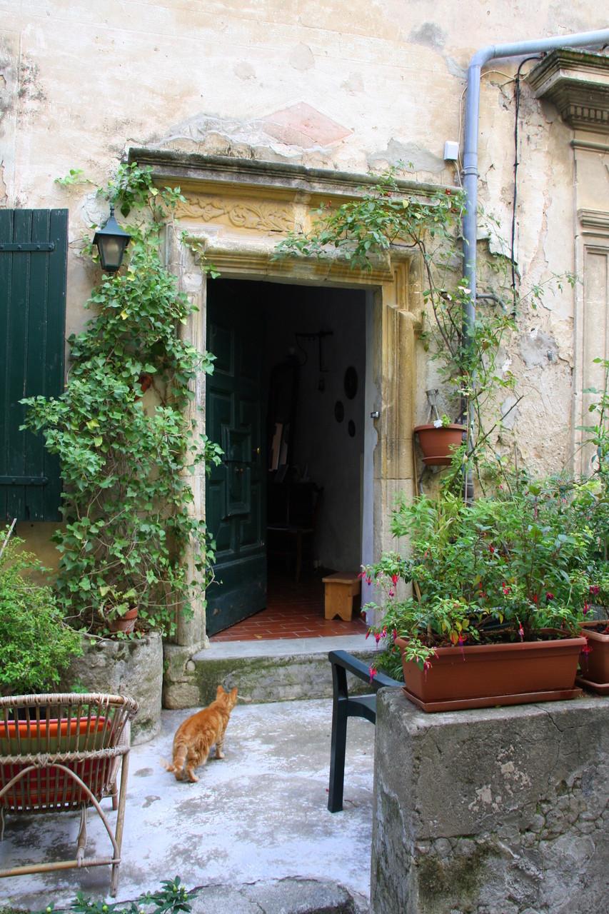 Bild: Seguret, Vaucluse, Provence