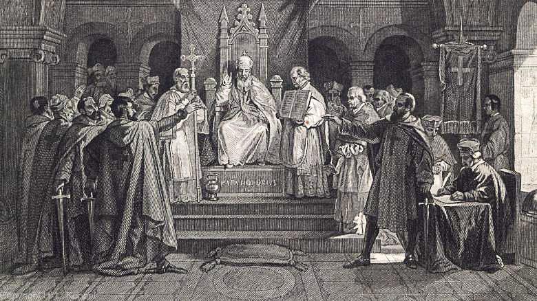 Bild: Konzil von Troyes
