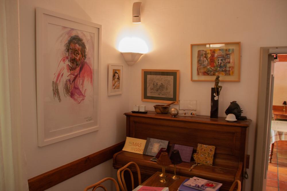 Bild: Im Innern von Le Mas des Grès, Lagnes