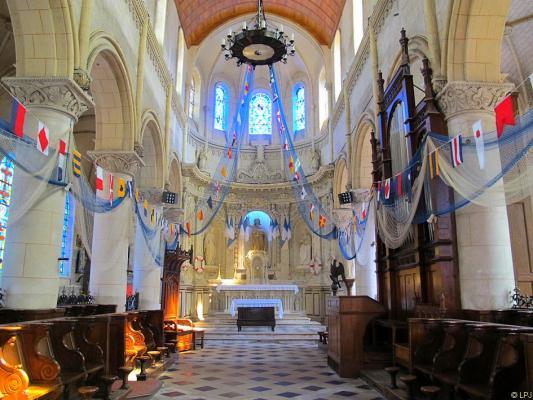 Bild: Église St.-Martin in Yport