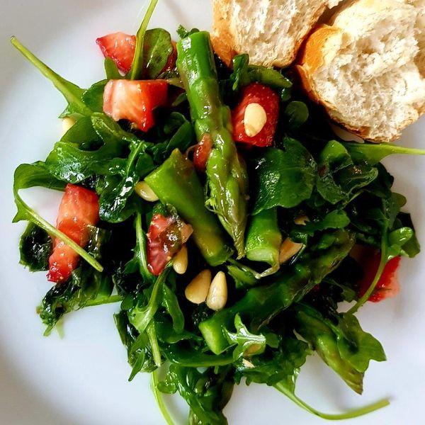Bild: Rezept, Frühlingssalat mit laiture de mer