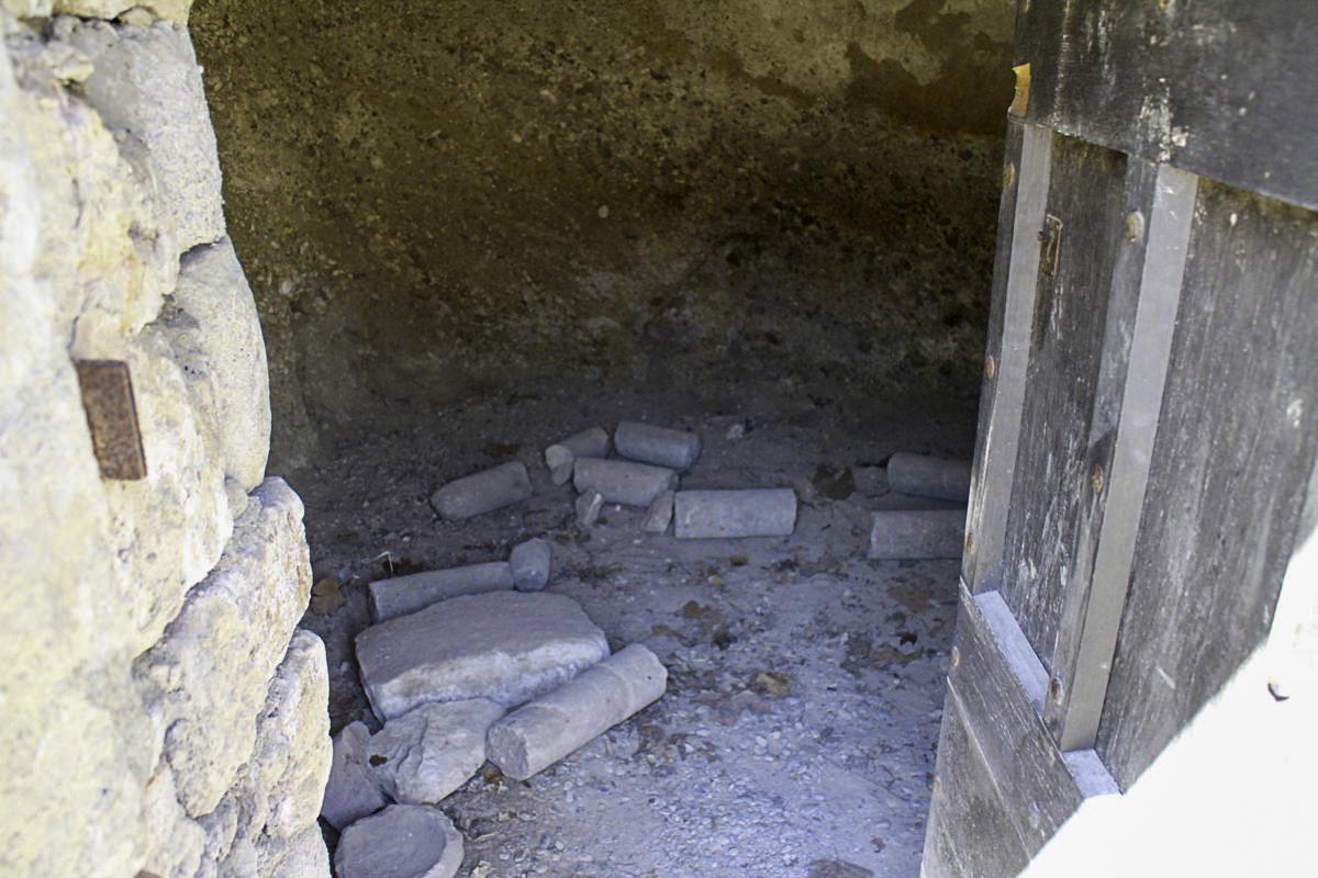 Im Keller der Mönche in der Abbaye de Saint-Hilaire
