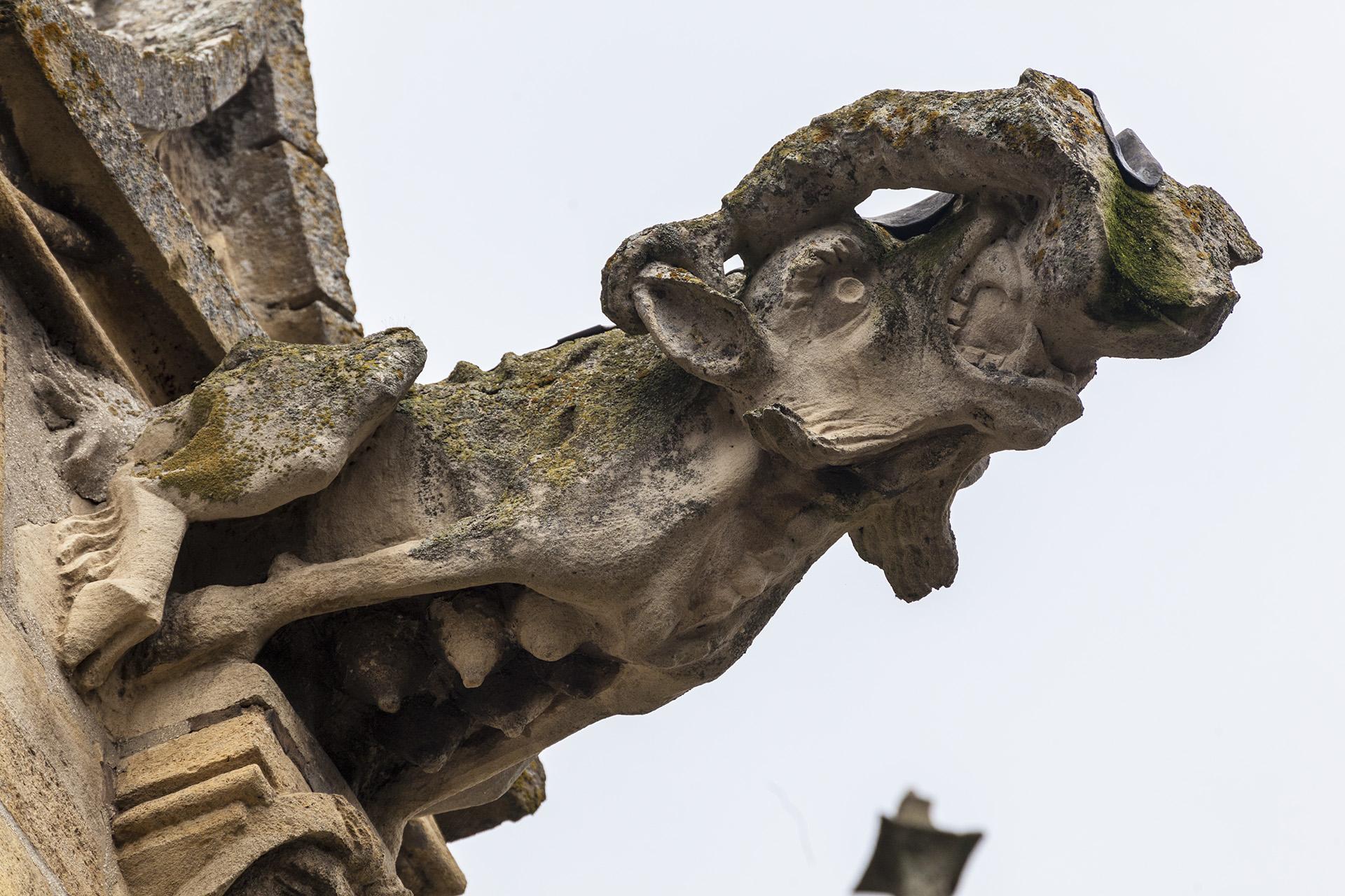 Bild: Wasserspeier & Monster an der Basilika Notre Dame de L`Épine