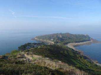 Bild: Aussicht von Trebeurden auf die Küste