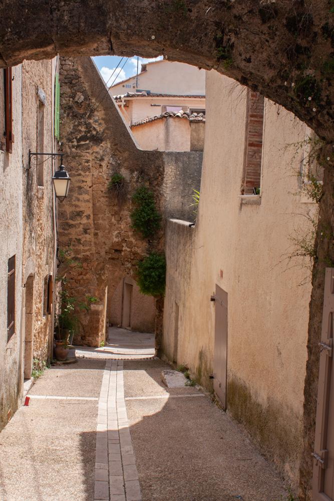 Bild: Villecroze im alten Ort
