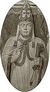 Bild: Jacques Fournier als Papst Benedikt XII. in Avignon