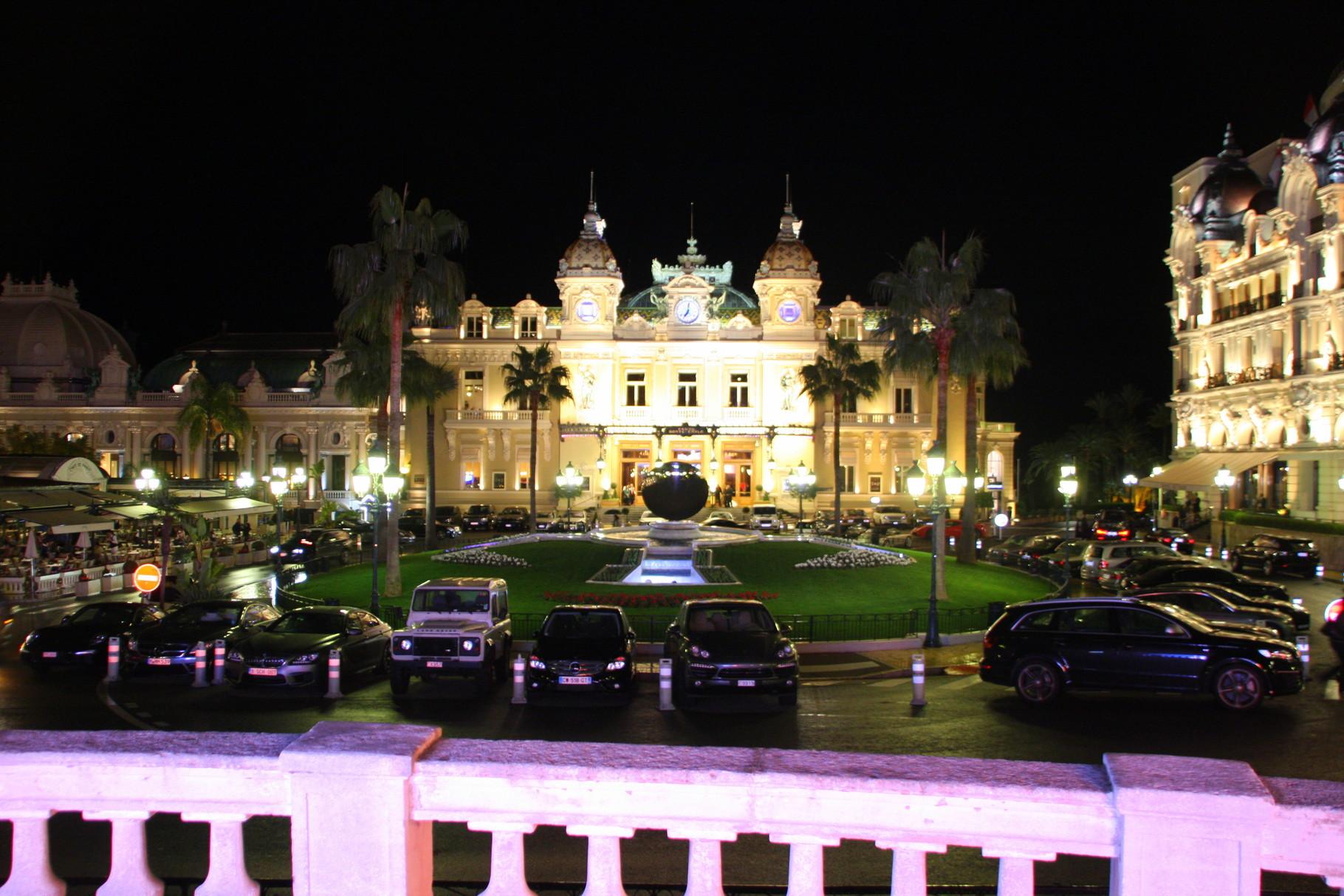 Bild: Fontaine in Monte Carlo