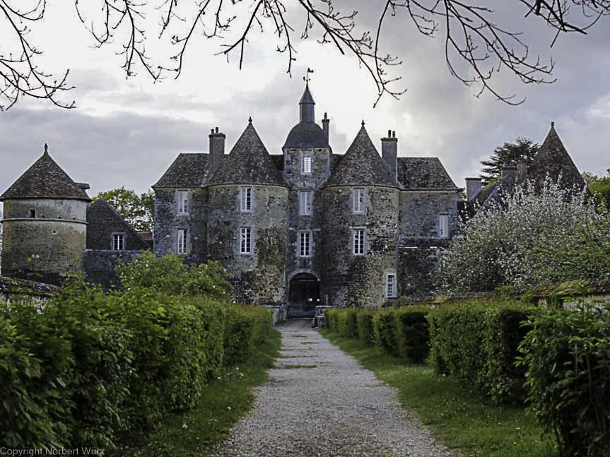 Bild: Château de Ratilly in dem kleinen Ort Treigny