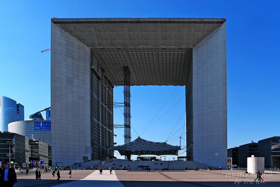 Bild: Stadtteil La Défense in Paris, La Grande Arche