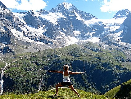 Yoga wandelvakantie in de Zwitserse bergen