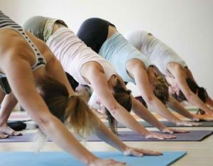 yoga en wandelen