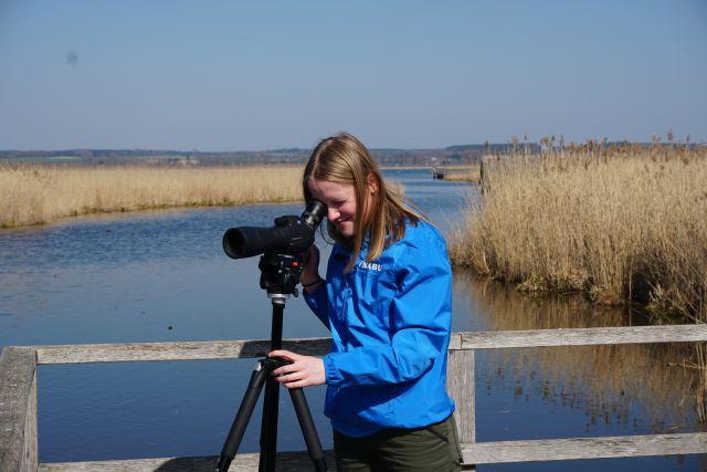 Bestandsaufnahme von Wasservögeln (Bild: NABU/M.Bensberg)