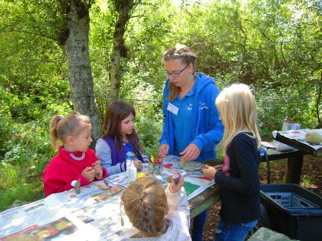 Leitung von Kindergeburtstagen und Kinder-Ferienprogrammen (Bild: NABU Federsee)