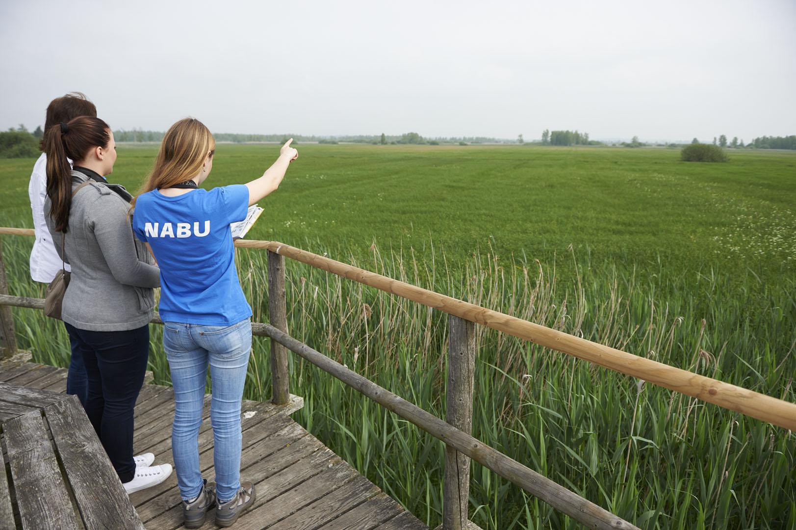 Leitung von NABU-Führungen (Bild: Touristikmarketing Bad Buchau)