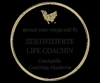 Regula Belinda Schütt ist zertifizierte Life Coachin, ConAquila Coachingakademie