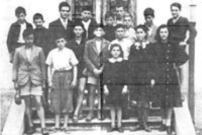 Pier Paolo Pasolini au collège de Valsavone