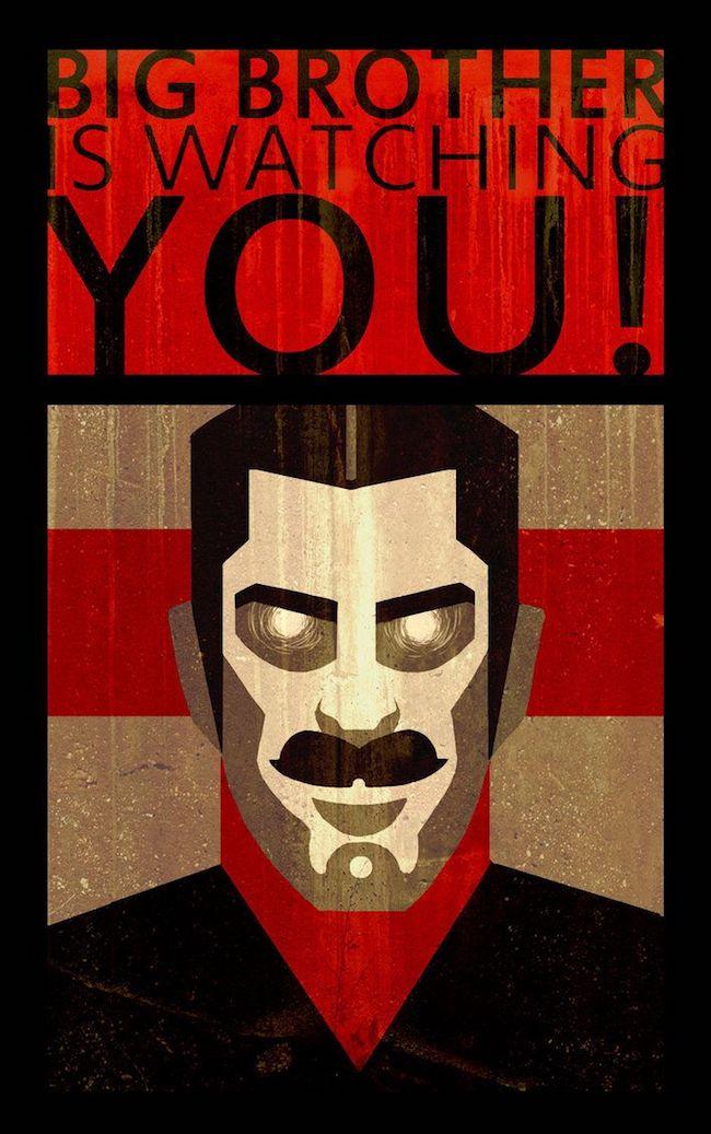 Big Brother te regarde !