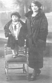 Pier Paolo Pasolini et sa mère
