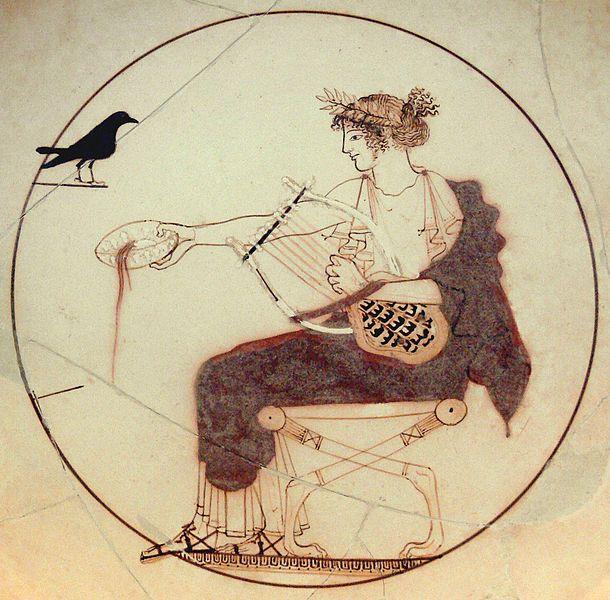 Dieu Apollon (V°s. av. J.-C.) - Musée de Delphes