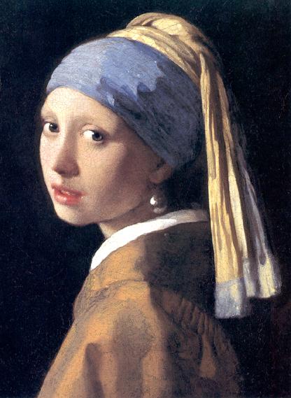 La Jeune Fille à la perle (1665)
