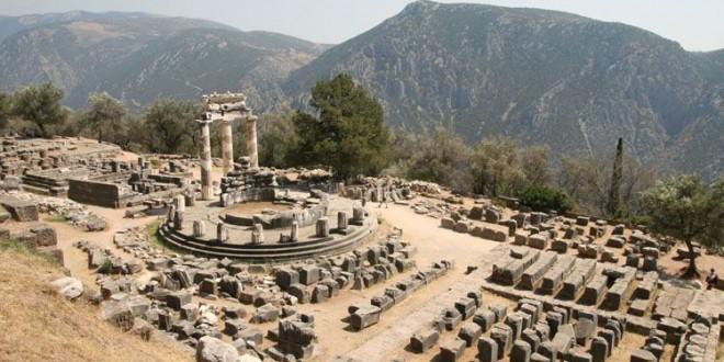 Le sanctuaire de Delphes