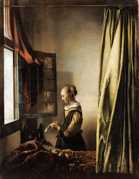 La Liseuse à la fenêtre