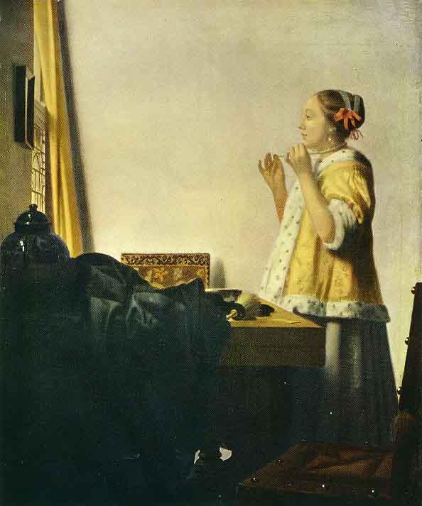 La Dame au collier de perles (1664)