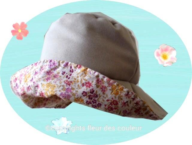 イアリア製のウールと日本製の花柄のコットン生地の組み合わせです、洋服のページのコートとお揃いで作りました。
