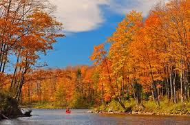 Fall along the Beaver River.