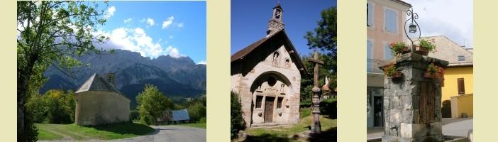 Chapelle Saint-Estève, Chapelle des Pétètes, fontaine Place Grenette Saint-Bonnet