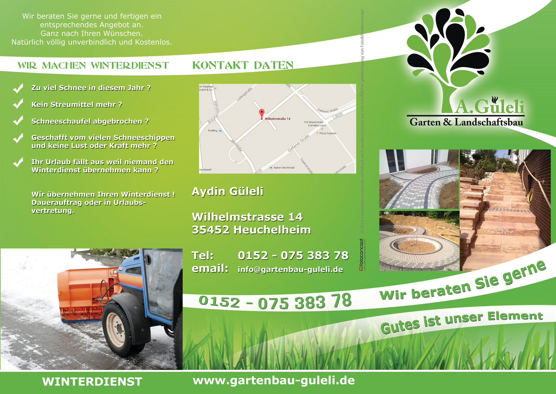 STARTSEITE - gartenbau-gulelis Webseite!