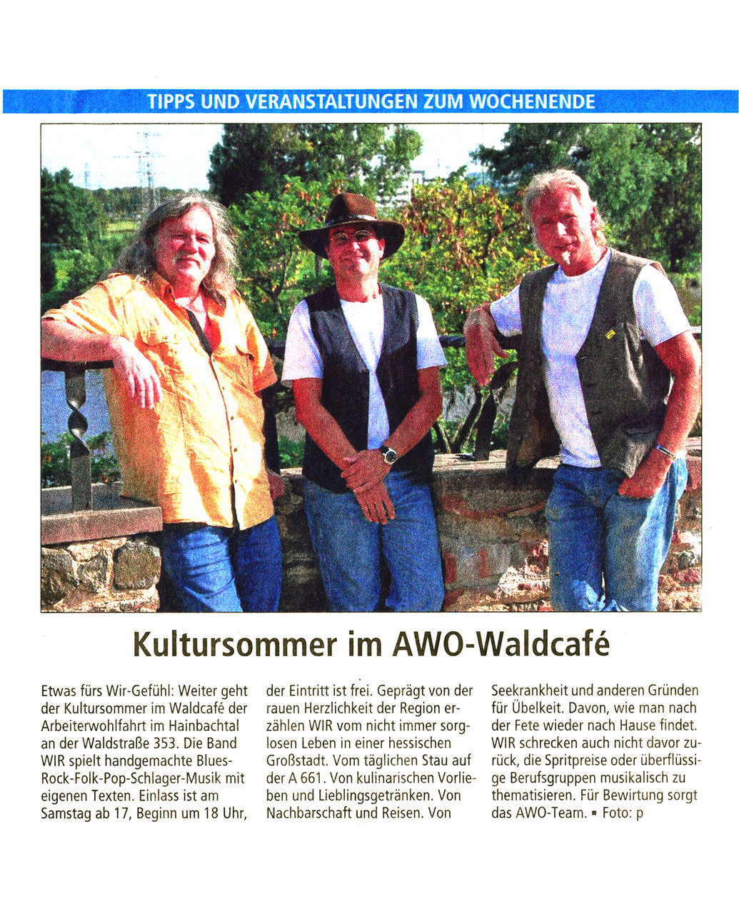 Offenbach Post, 7. August 2015
