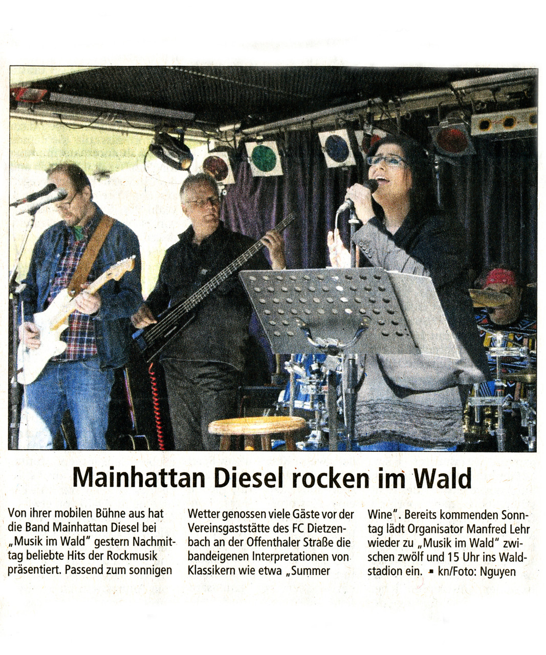 Offenbach Post, 20. April 2015
