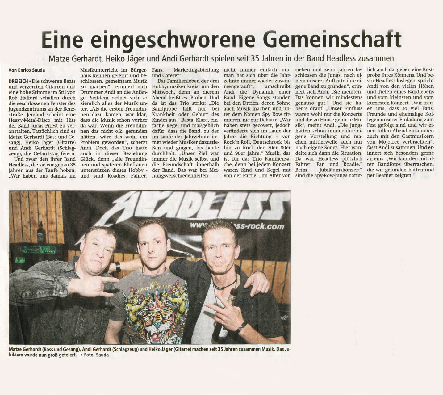 Offenbach Post, 6. Januar 2014