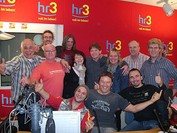 Zu Besuch bei der hr3-Bombi-Show
